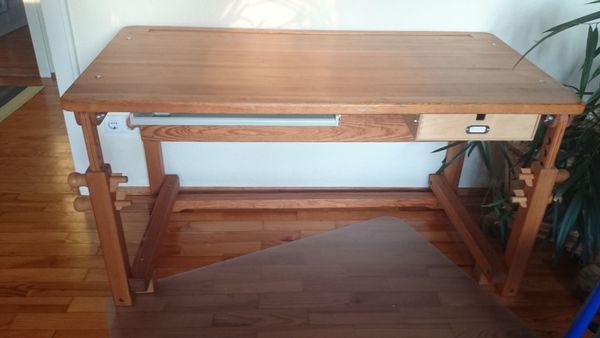 Schreibtisch, höhenverstellbar, massives » Kinder-/Jugendzimmer