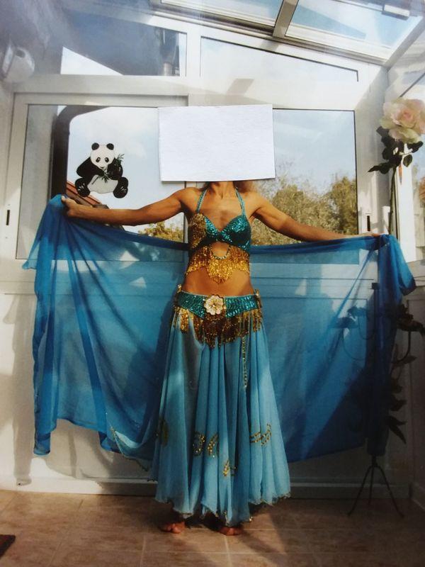Bauchtanzkostüm (Ägypten) » Damenbekleidung