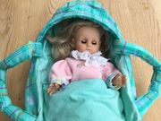 Puppen-Tragetasche mit ZAPF-Puppe
