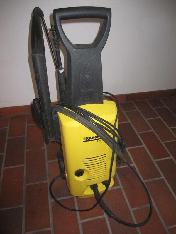 """Kärcher Hochdruckreiniger K 4/99 - Böhl-iggelheim - Defekter Kärcher Hochdruckreiniger K 4/99 (Pumpe fördert kein Wasser mehr) zum """"Ausschlachten"""" oder als """"Ersatzteillager"""" oder auch zur Nutzung des Zubehörs (Pistole, 2 versch. Reinigungsdüsen, Hochdruckschlauch) oder vielleicht auch - Böhl-iggelheim"""