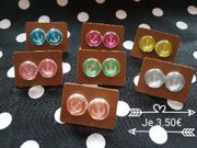 Ohrstecker Cabochon Anker