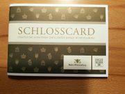 tolles Weihnachtsgeschenk Schlosscard Baden-Württemberg mit