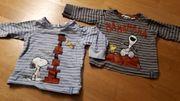 2 Kinder Langarm Shirts Snoopy