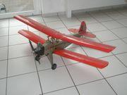 Doppeldecker-Modellflugzeug zu verkaufen