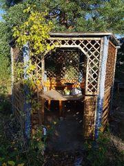 Holzpavillon zum selbst Abbauen
