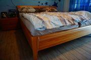 Quasi Geschenkt komplettes Schlafzimmer Massivholz