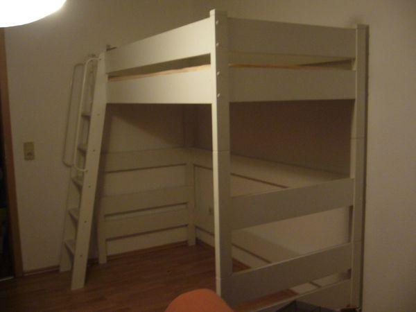 Ikea Etagenbett Weiß : Ikea hochbett günstig gebraucht kaufen verkaufen