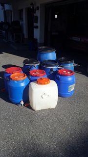 Mostfässer, PVC Fässer