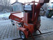 Holzhäcksler Dieselmotor 22PS Schredder Buschhacker
