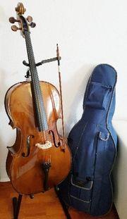 4 4 Cello-Set mit Bogen