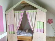 Wunderschönes Kinderbett Spiel Haus maßangefertigtes