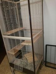 Käfig für Chinchilla Ratten Degus