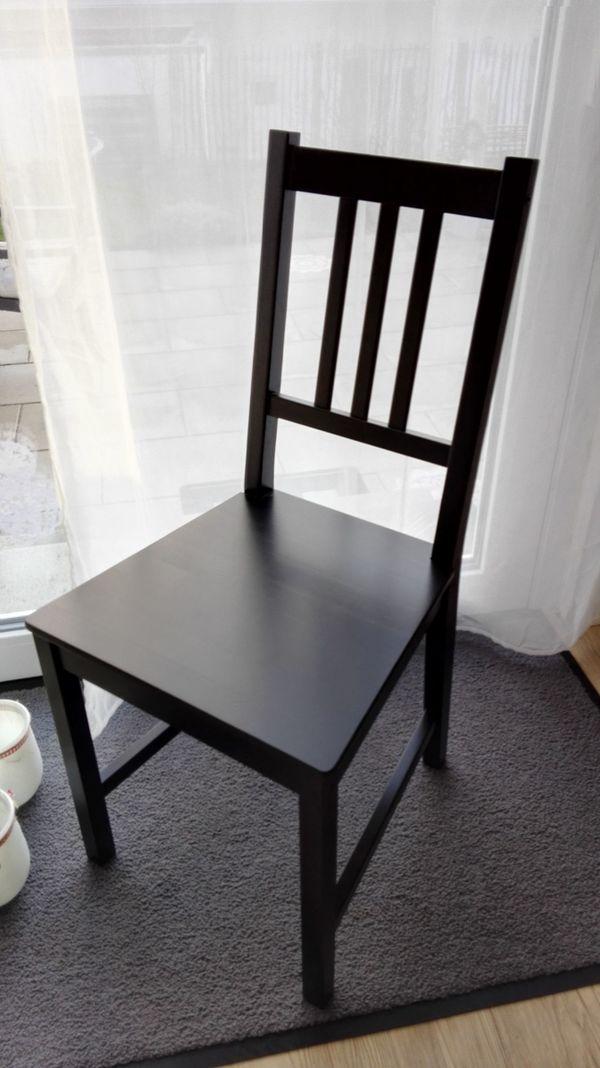 Esszimmerstühle von ikea  2 neue Esszimmerstühle in schwarz von Ikea in Kandel ...