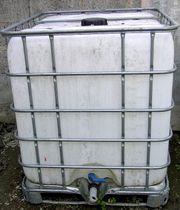 Pflanzenöltank Biodieseltank Gittertank