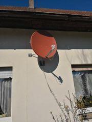 sat Schüssel Satellitenschüssel
