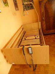 Krankenbett, Pflegebett, elektrisch
