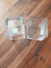 2 Teelichthalter von Partylite zu