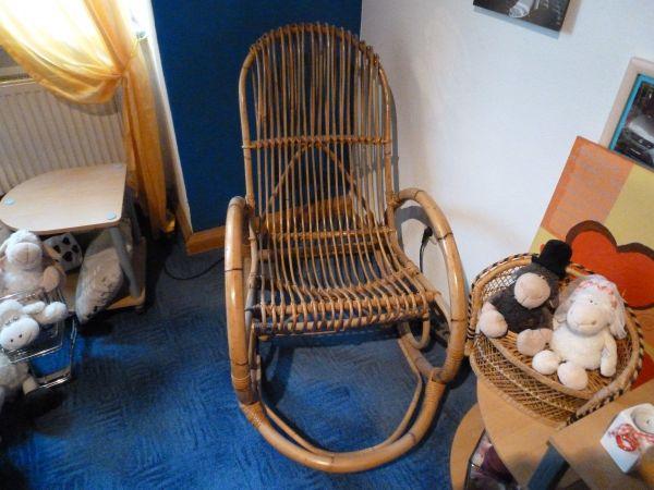 Schaukelstuhl kaufen schaukelstuhl gebraucht for Rattan schaukelstuhl gebraucht