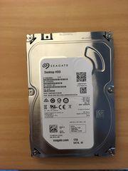 neue Festplatte Seagate Desktop HDD