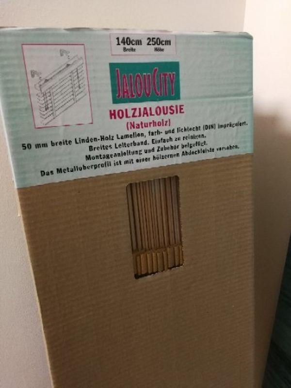 Holzjalousie 50mm (2 Stück) OVP   NP ca. 325, Euro/Stück in