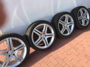4 Mercedes Alufelgen 5-Doppel-Speichen-Design 7