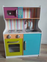 Kinderküche aus Holz gebraucht zu