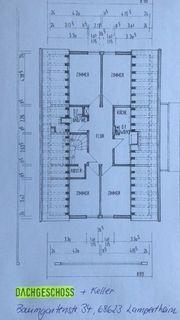 4 ZKB Dachgeschosswohnung