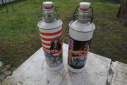 2 Alu Bierflasche Chopper Beer