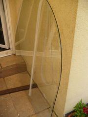 Ofenunterlegplatte aus Glas mit Dichtung