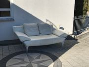 Rolf Benz Designer Echtleder Couch