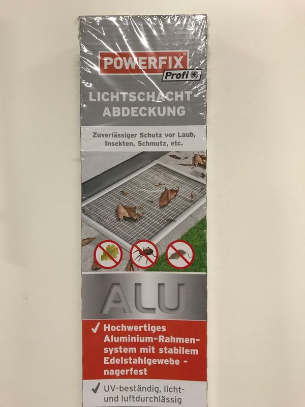 Powerfix Lichtschachtabdeckung max. 1,15 x 0,50m in Holzgerlingen ...