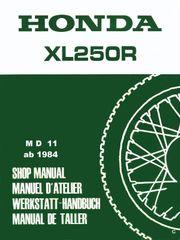Werkstatthandbuch Honda XL