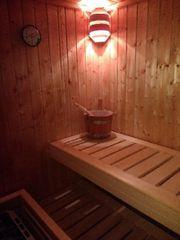 Sauna Weka neuwertig
