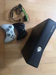 Xbox 360 slim mit viel