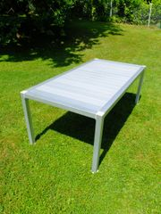 Thali Aluminium Gartentisch