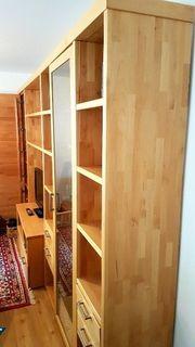 Wohnwand Buche Massiv - Haushalt & Möbel - gebraucht und neu kaufen ...