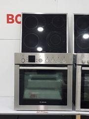 Bosch Einbauherd Set mit Ceranfeld