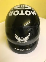 Retro-Motorradhelm