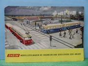 Eisenbahn H0 - Eheim Faltblattkatalog - Prospekt -
