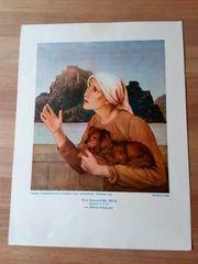 Alte Kunstdrucke 1923 -