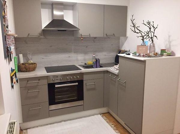 Einbauküche inkl. herd dunstabzug und kühlschrank in sankt