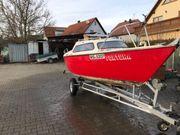 Kajütboot Segelboot Angelboot