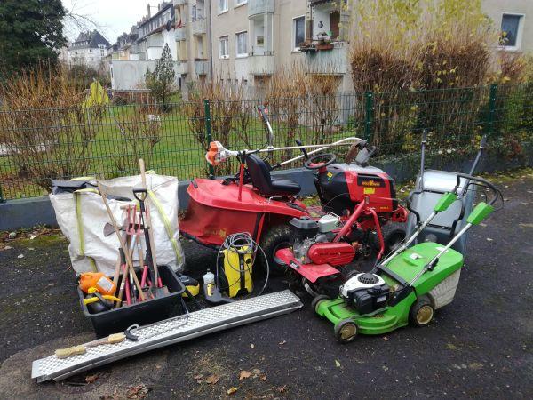 Garten und landschaftsbau maschinen  Geschäftsauflösung Garten- und Landschaftsbau Maschinen und ...