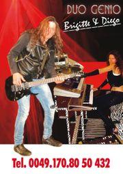 LIVE-MUSIKER-DUO 30 jährige Bühnenerfahrung für