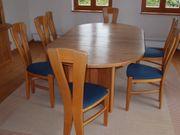 Holztisch inkl Stühlen