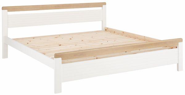 Neu Doppel Bett 200x200 Massiv Holz Bettgestell Schafzimmerbett