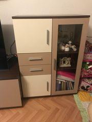 2 Teiliges TV Schrank Wohnzimmerschrank