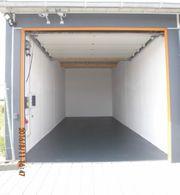 XL-Garage kleine Halle in Schwäbisch
