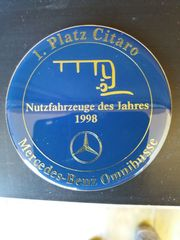 Plakette 1 Platz Citaro 1998