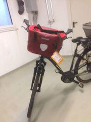 Fahrrad-Lenkerkorb ORTLIEB 100 wasserdicht rot